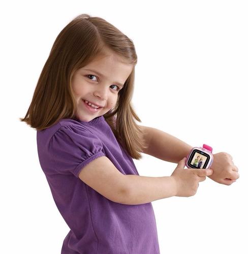 reloj smartwatch vtech kidizoom niños juego - verde