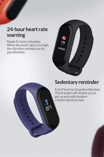 reloj smartwatch xiaomi mi band 4 original fit inteligente