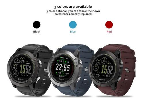 reloj smartwatch zeblaze para deportes