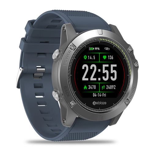 reloj smartwatch zeblaze vibe ip67 app cámara