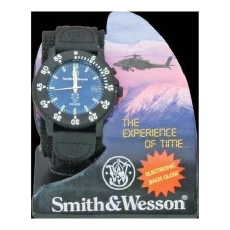 reloj  smith & wesson para hombre sww455p police multicolor