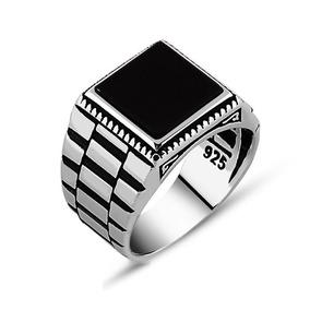 busca lo mejor en venta grande descuento venta Reloj Solitario Con Diseño De Anillo De Plata Para Hombre