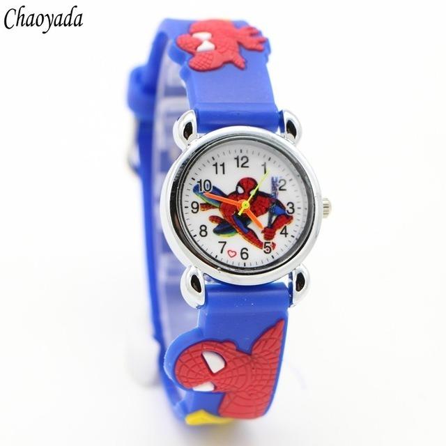 Reloj Spiderman Para Niño Manecillas 29900 En Mercado Libre