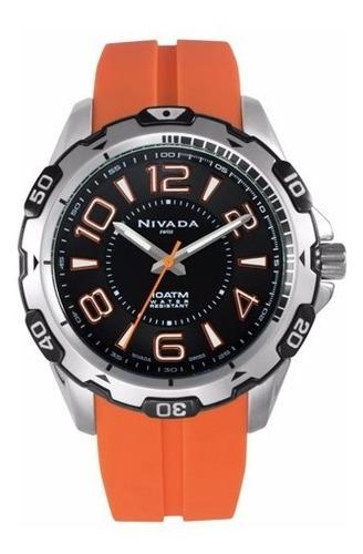 reloj sport análogo para caballero np15705macoa nivada