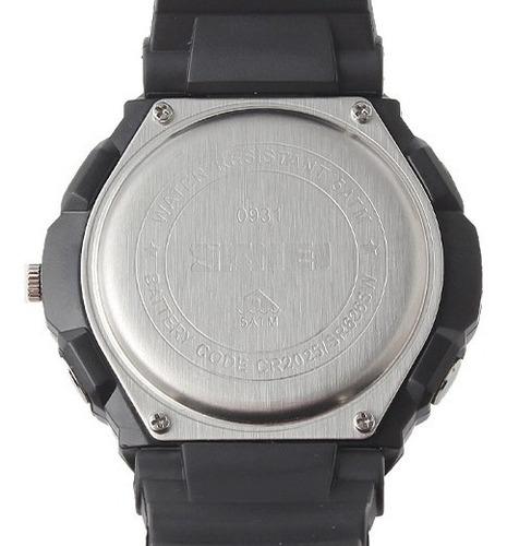 reloj sport digital análogo skmei ad0931 - color negro verde