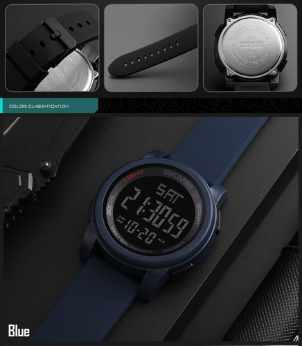 reloj sport skmei deportivo digital cronometro sumergible