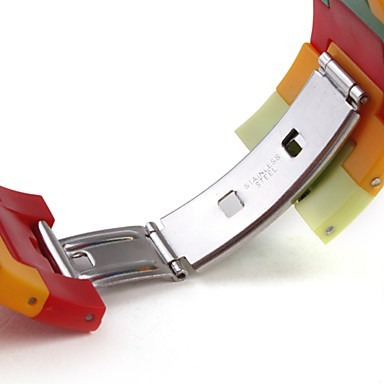 reloj  sport unisex dama- niño-niña lcd digital arcoiris