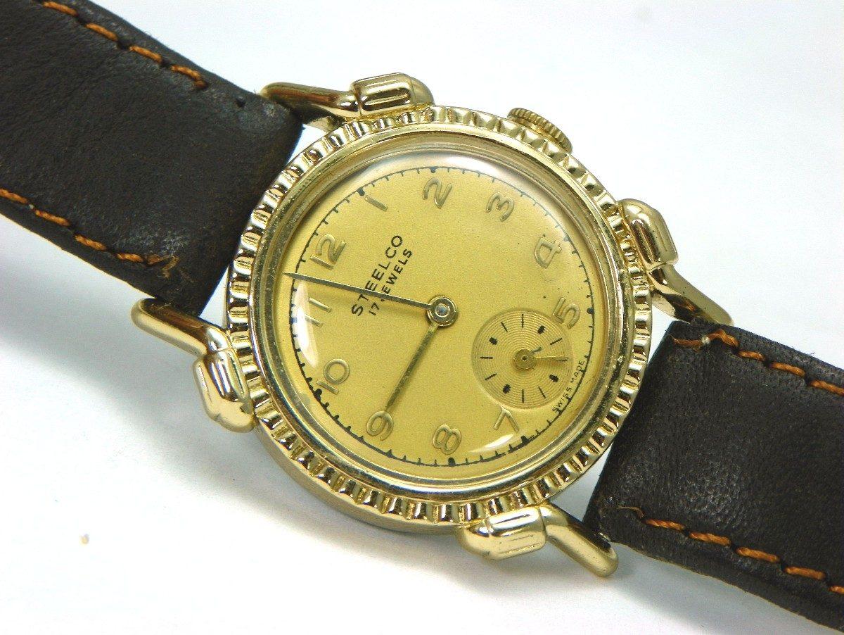 Reloj vintage art deco gruen