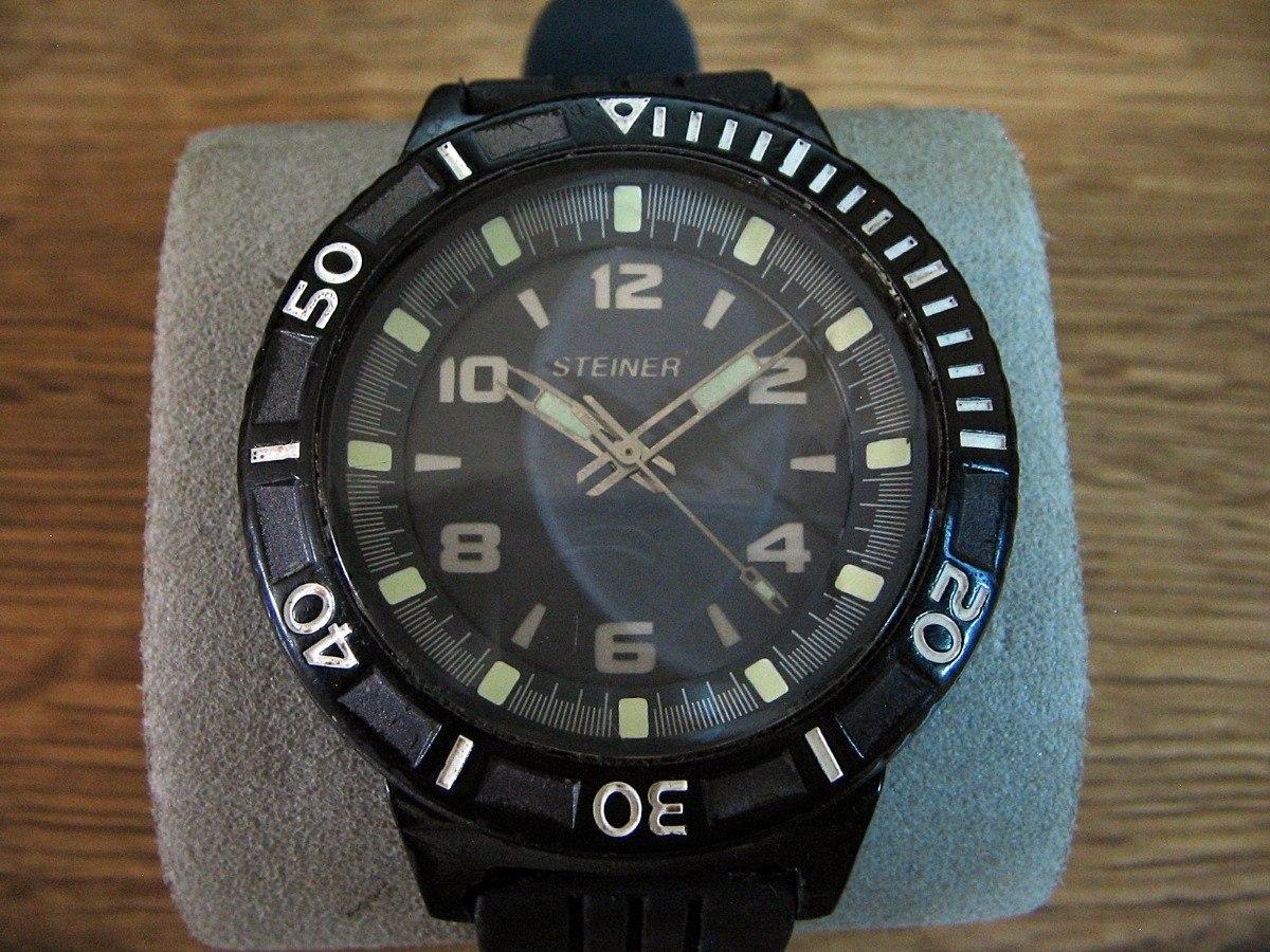 280fed65e115 Reloj Steiner Análogo Con Luz Electroluminiscente. -   499.00 en ...