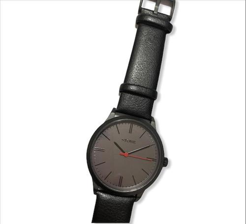 reloj stone hombre malla de cuero st1064 garantía oficial