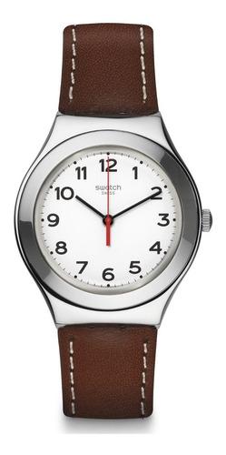 reloj strictly silver café swatch