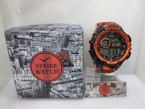 reloj strike m1090-ola original hombre + pulso adicional