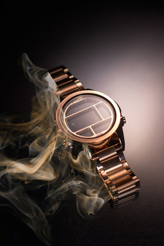 reloj stromberg chain sumergible digital rose gold