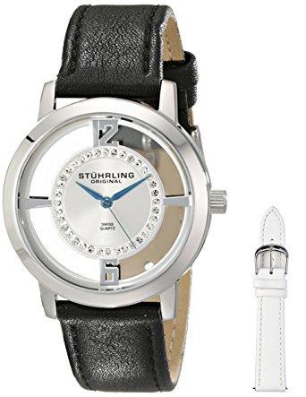 reloj stuhrling 388l2.set.01 negro