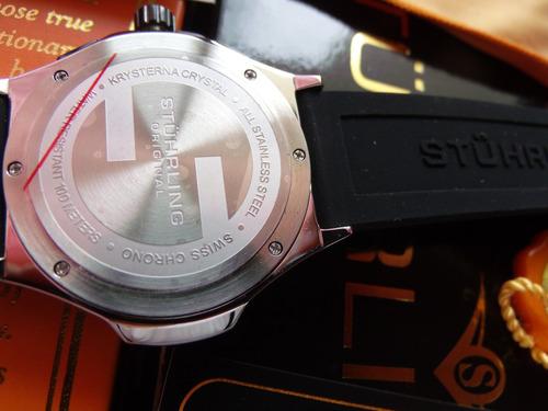 reloj stuhrling hombre