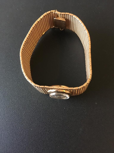 reloj suizo cyma brazalete de oro 18 k de mediados de 1950