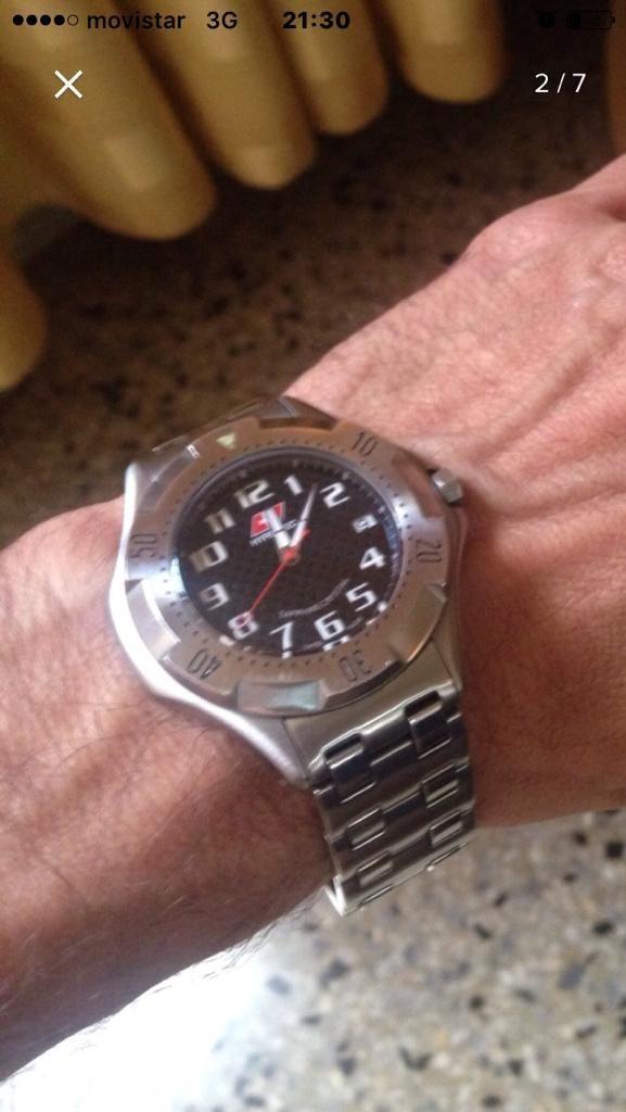 venta minorista 69ce5 2918f Reloj Suizo De Caballero Lo Mejor