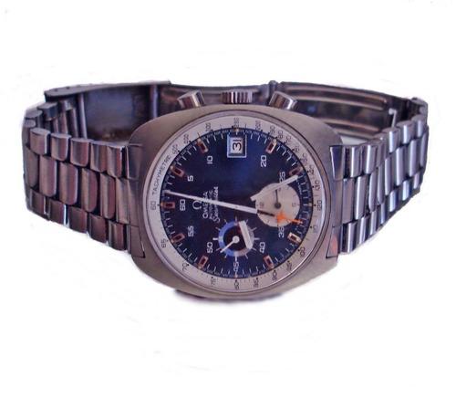 reloj suizo omega seamaster cronógrafo automático  cal 1040
