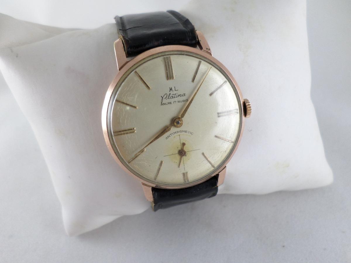 066ee87de867 reloj suizo platina excelente estado ver video! Cargando zoom.