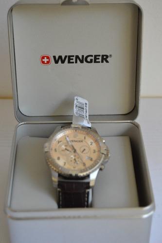reloj suizo wegner, mod. 77052, squadron  resistente al agua