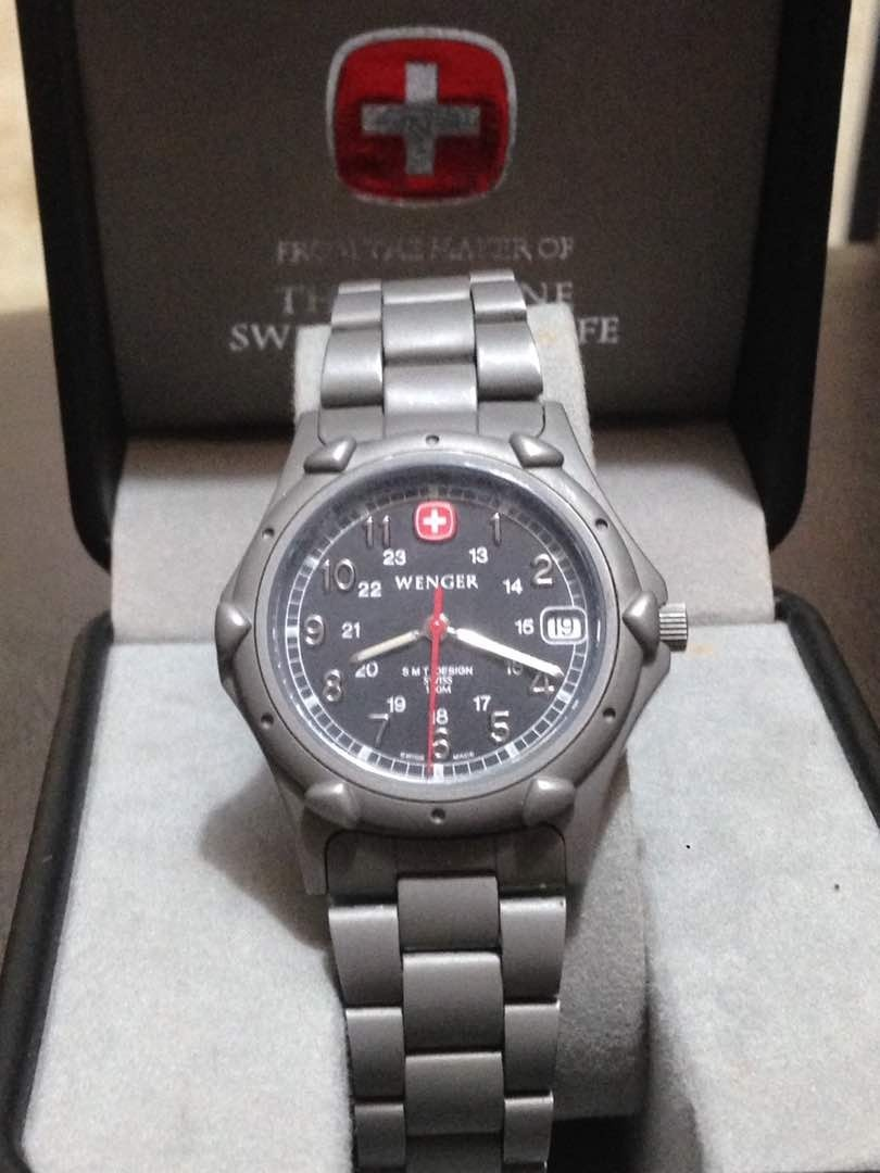 lo último 83173 5d7b9 Reloj Suizo Wenger Original (from Swiss Army) - Bs. 30.000,00