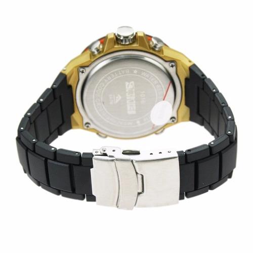 reloj sumergible 50 metros marca skmei diseño y elegancia
