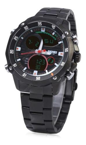 reloj sumergible deportivo skmei 1146 luz cronometro 30m