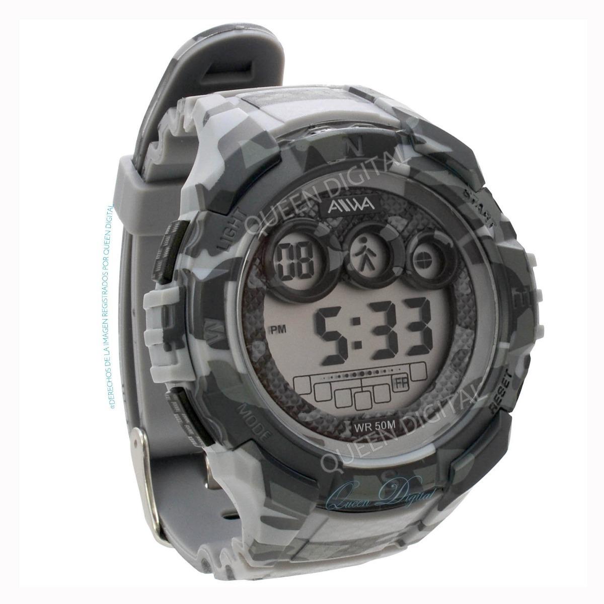 a8e628f3a81b reloj sumergible hombre deportivo crono luz 50mt alarma. Cargando zoom.