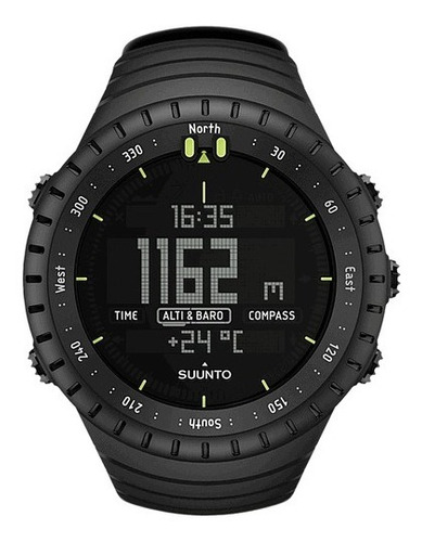reloj suunto core all black  military