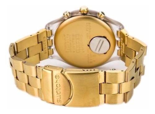 reloj svck4032g dorado estilo unisex  acero inoxidable