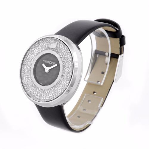 reloj swarovski 1135988 negro mujeres suizo crystalline