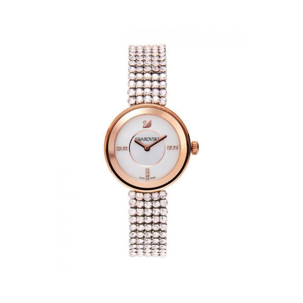 Swarovski 5027319 Oro Cuero Mujer Reloj Rosa nwk8PX0O