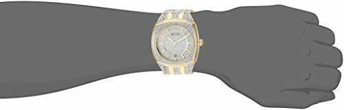 reloj swarovski bulova hombre cristales autenticos original