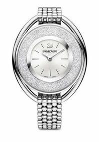 14e8bac3a21c Reloj Swarovski Mujer (disponible Plateado/negro Y Negro)