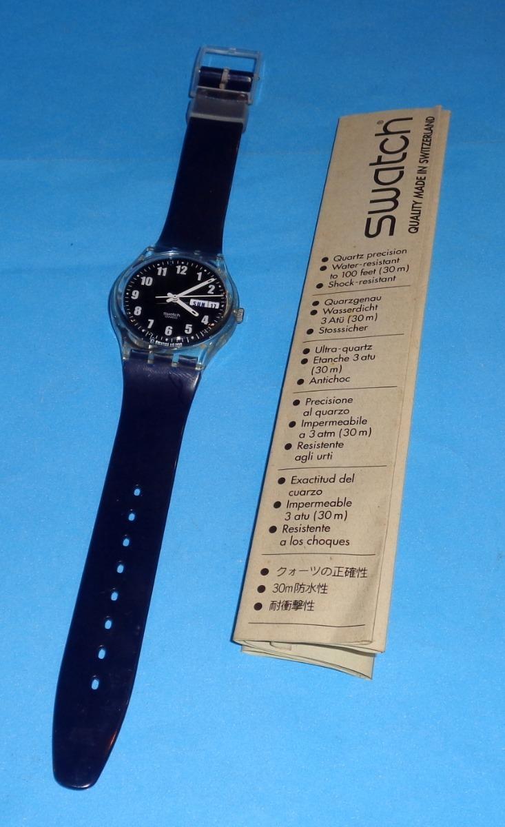 1998 Calendario.Reloj Swatch Ag 1998 Calendario Nuevo Con Estuche