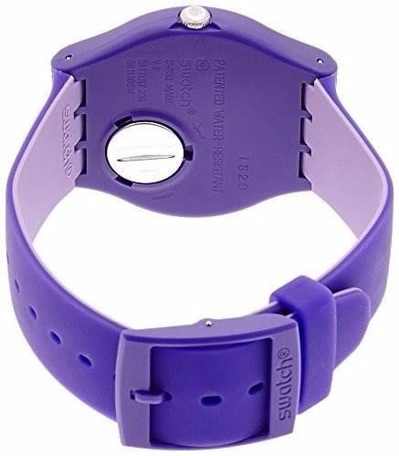 reloj swatch backup purple suov703   original  envio gratis