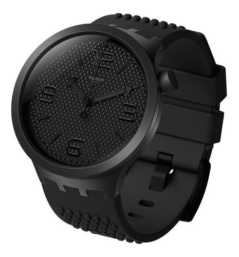 reloj swatch bbblack big bold so27b100