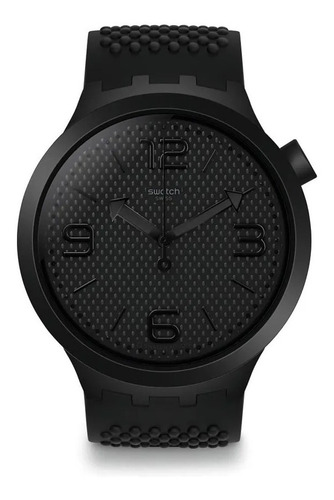 reloj swatch bbblack so27b100