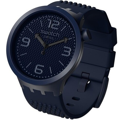 reloj swatch bbnavy big bold so27n100 - azul