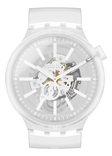 reloj swatch big bold whiteinjelly - so27e106 - 47 mm