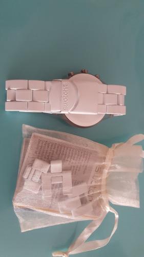 reloj swatch blanco irony
