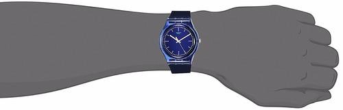 reloj swatch blue pilow suon121 | original envío gratis