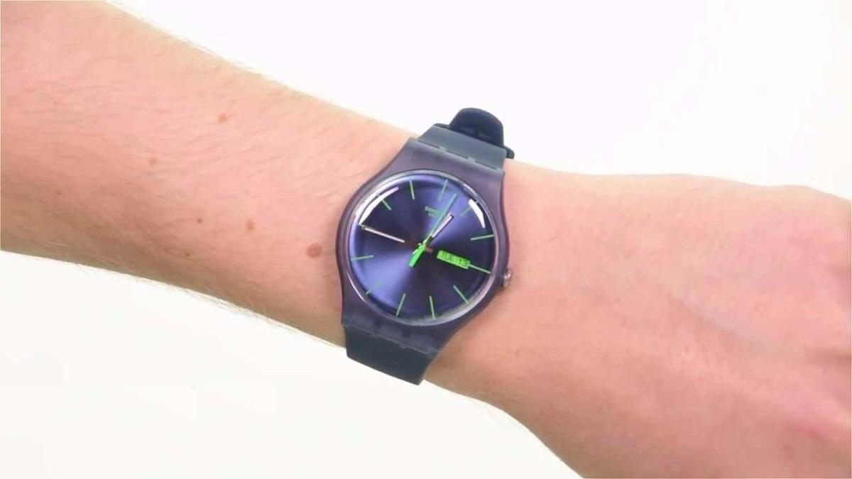 Gratis Reloj Rebel Swatch Blue Suon700Envíos zVpSUGqM