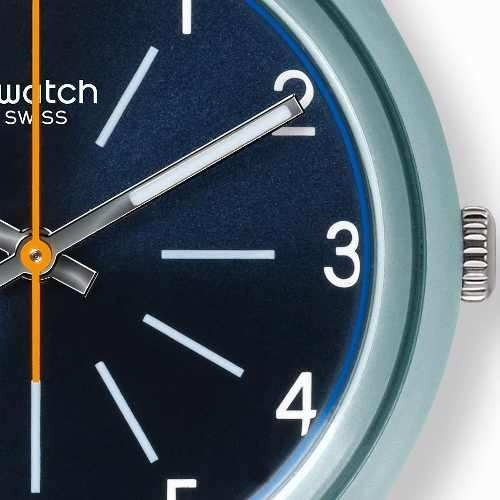 reloj swatch blue stitches gm184 | original envío gratis