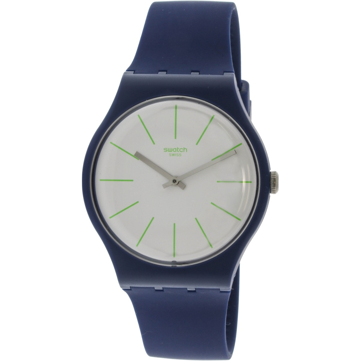 Cuarzo Bluesounds Reloj Swatch De Suizo Suon127 Wnnovm80 Silicona OZiTkXwluP