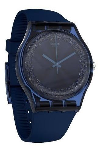 reloj swatch blusparkles suon134 mujer agente oficial