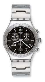 Reloj Blustery Ycs564g Mujer Cronógrafo Swatch Negro 9IWH2DbeEY