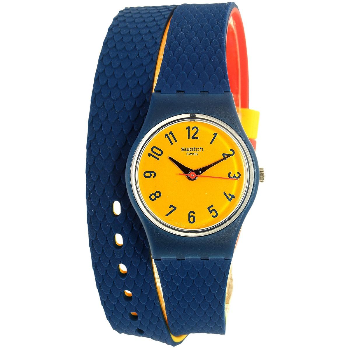 e55b567636d9 Reloj Swatch Check Me Out Ln150 Suizo Goma Multicolor Mujer ...
