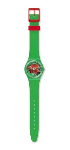 reloj swatch choupette mujer gg220   original envío gratis