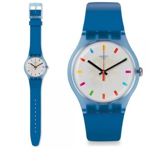 reloj swatch color square suon125 | original envío gratis